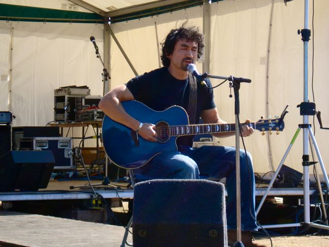 Steve Rodgers at The Albury Free Festival