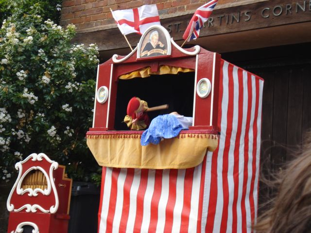 Punch & Judy at the Blackheath Fair
