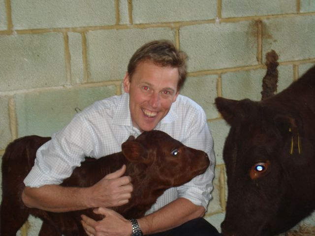 Tim with the latest heifer calf